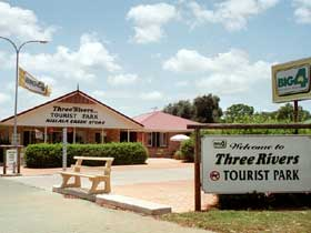 Mundubbera Three Rivers Tourist Park - Lismore Accommodation