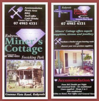 Miner's Cottage - Lismore Accommodation