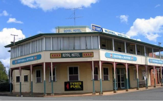 Royal Hotel Mundubbera - Lismore Accommodation