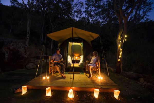 Keswick Island Camping and Glamping - Lismore Accommodation