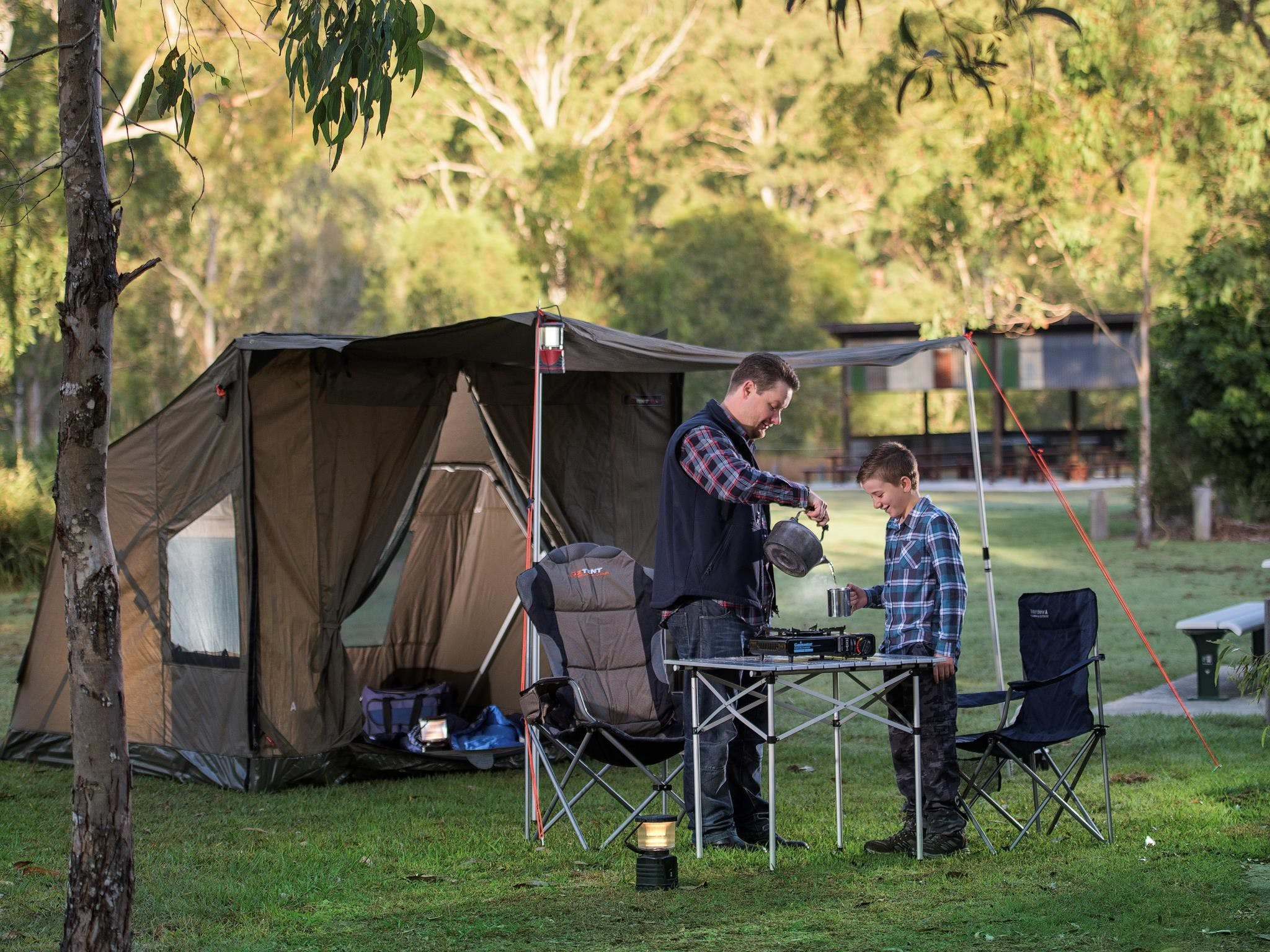 Hardings Paddock Campground - Lismore Accommodation