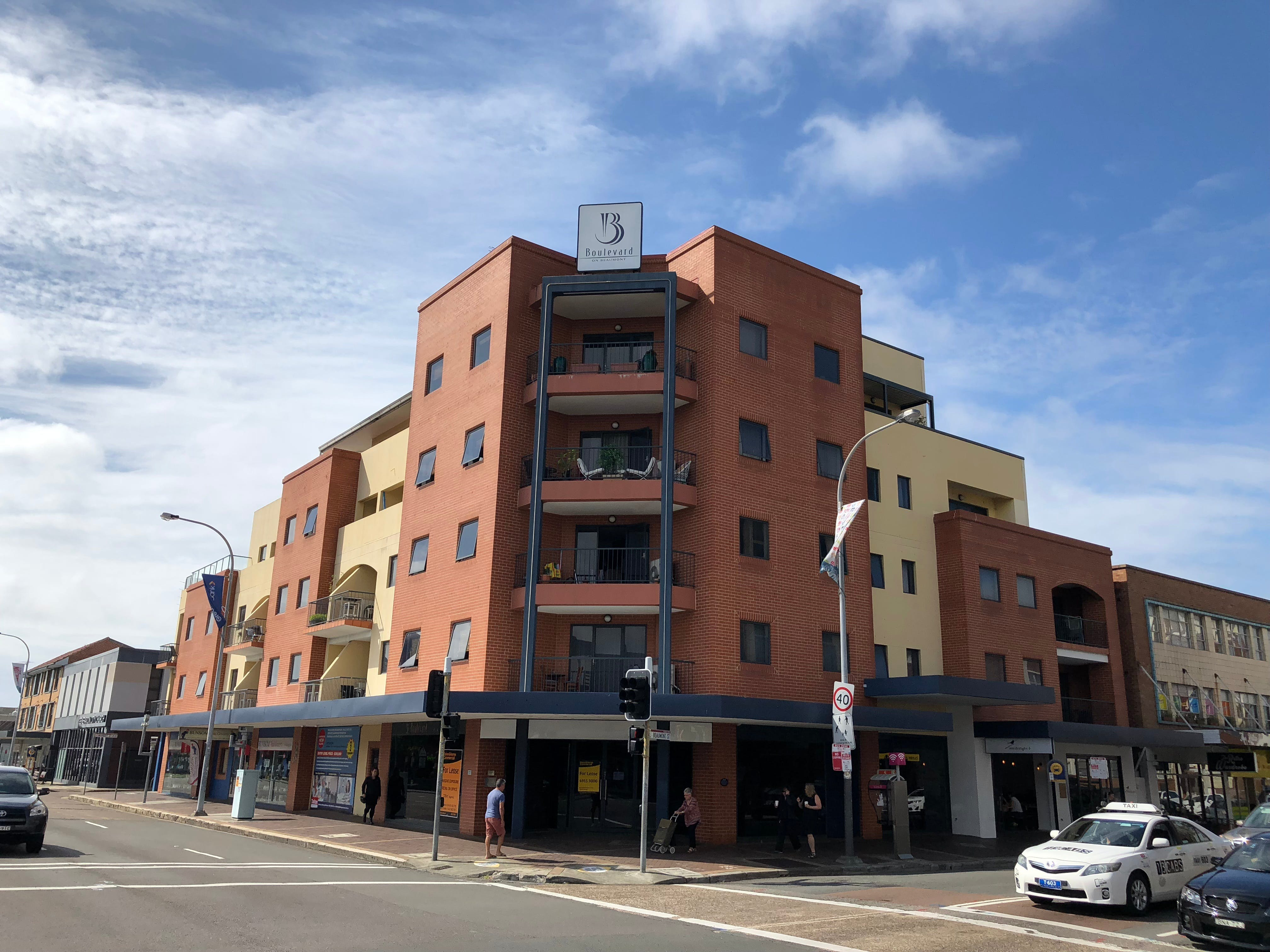Boulevard on Beaumont apartment hotel - Lismore Accommodation
