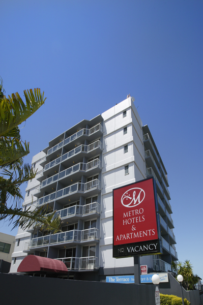 Metro Hotel  Apartments Gladstone - Lismore Accommodation
