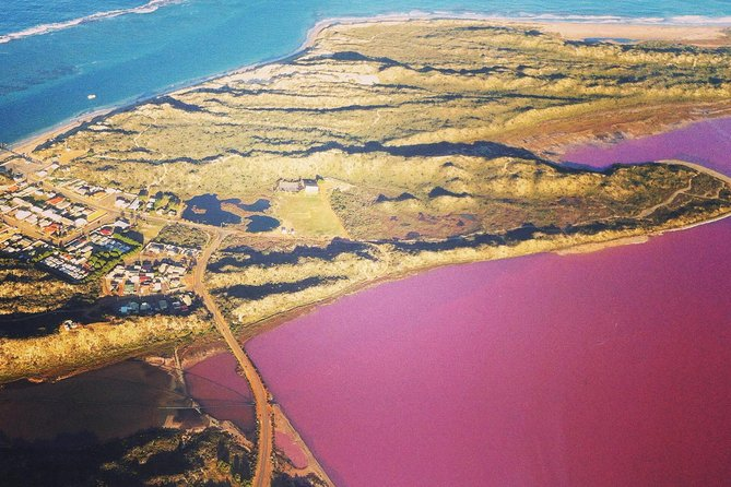 -minute Pink Lake and Port Gregory Scenic Flight From Geraldton