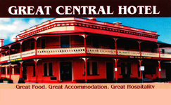 Great Central Hotel - Lismore Accommodation