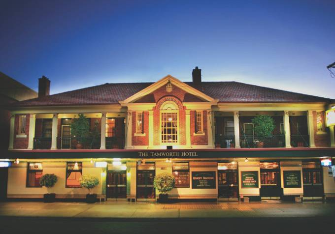 Tamworth Hotel - Lismore Accommodation