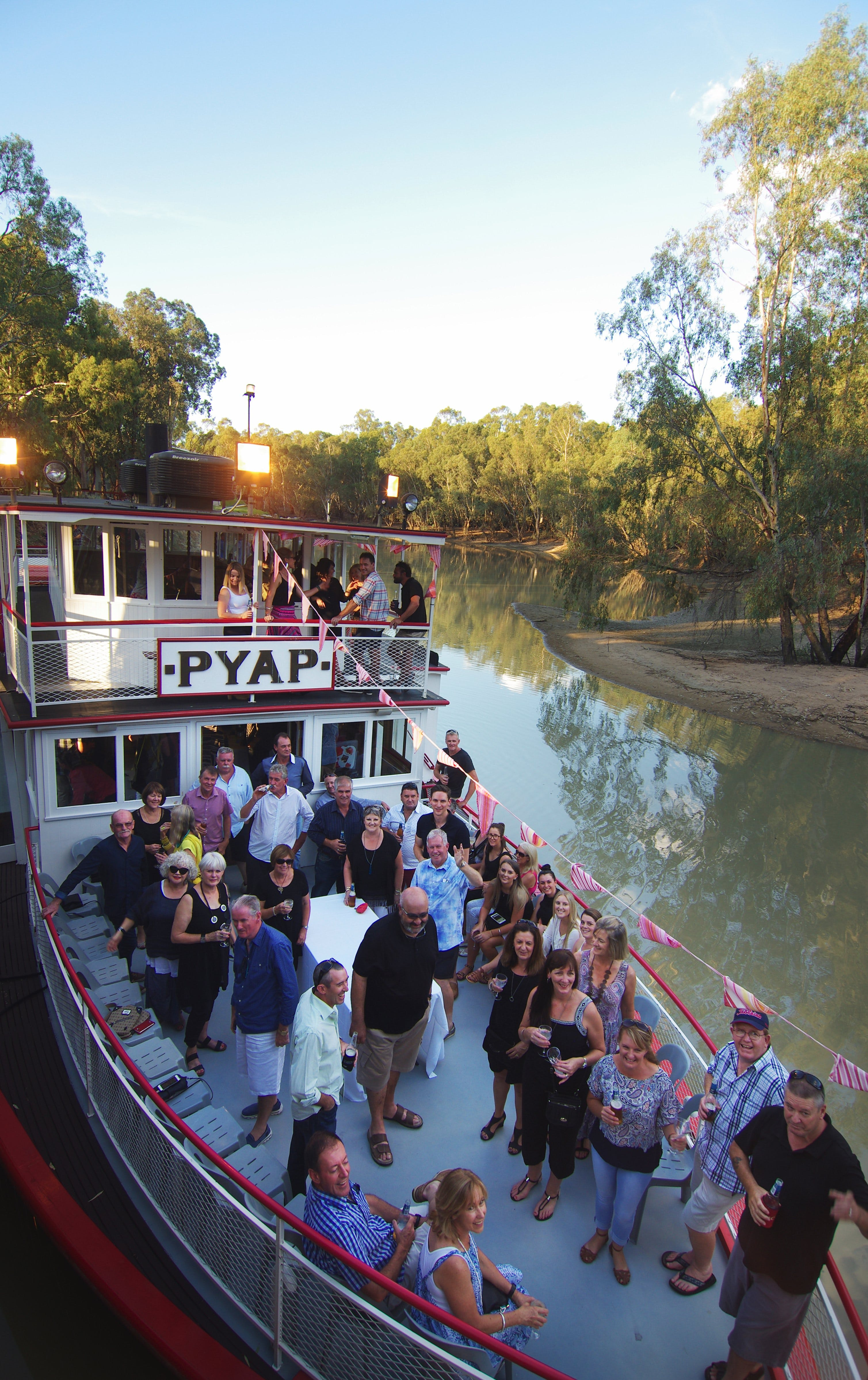 Swan Hill Region Food and Wine Festival Cruise - Lismore Accommodation