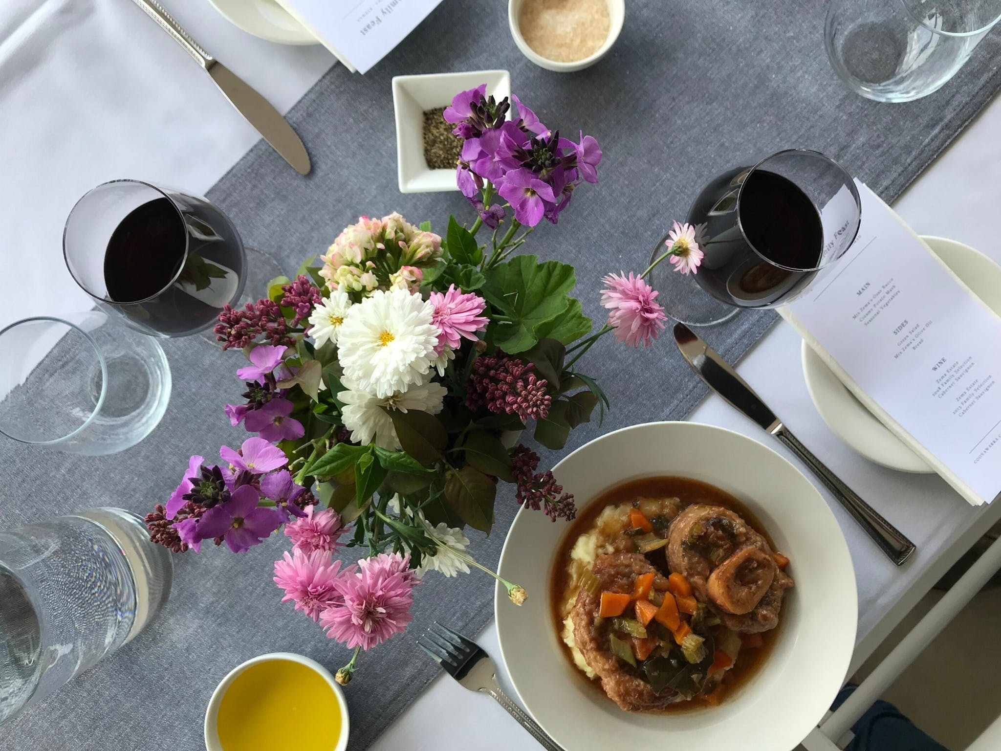 The Family Feast  Three Coonawarra families three tables three courses. - Lismore Accommodation