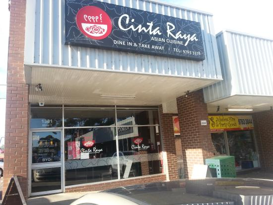 Cinta Raya Restaurant - Lismore Accommodation