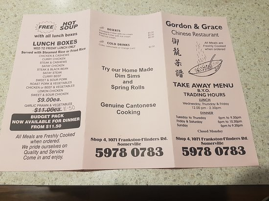 Gordon  Grace Chinese Restaurant - Lismore Accommodation