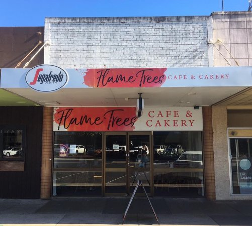 Flame Trees Cafe  Cakery - Lismore Accommodation