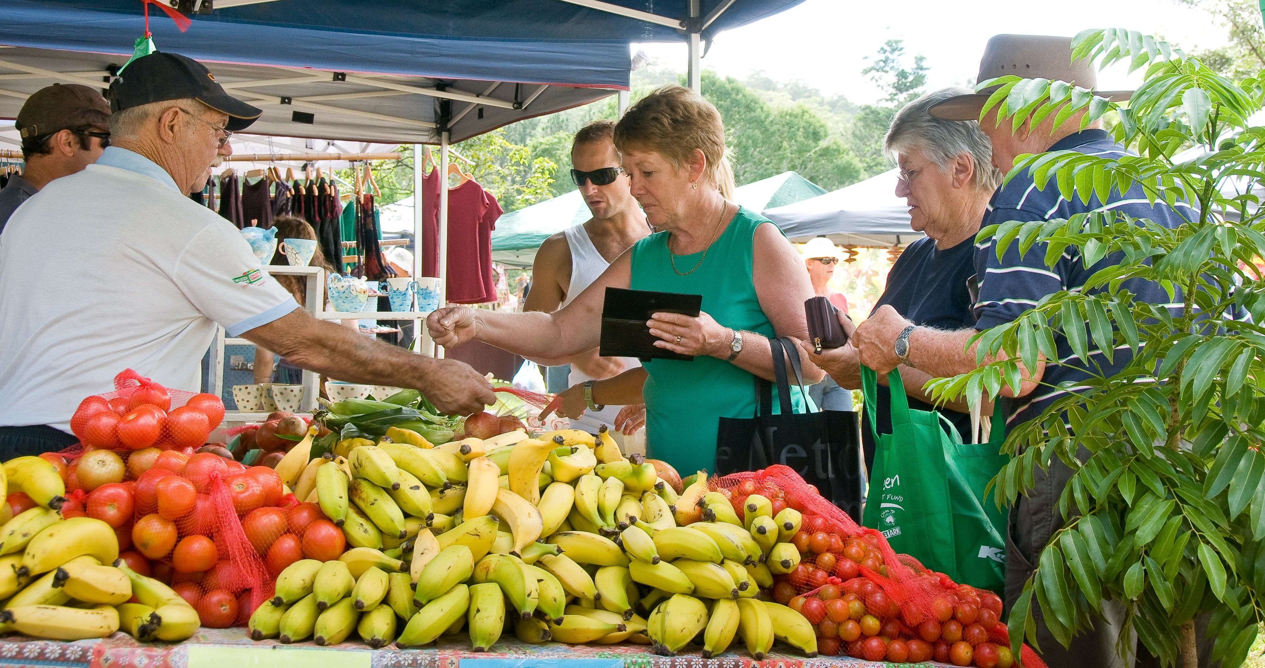 Newrybar Farmers Market - Lismore Accommodation