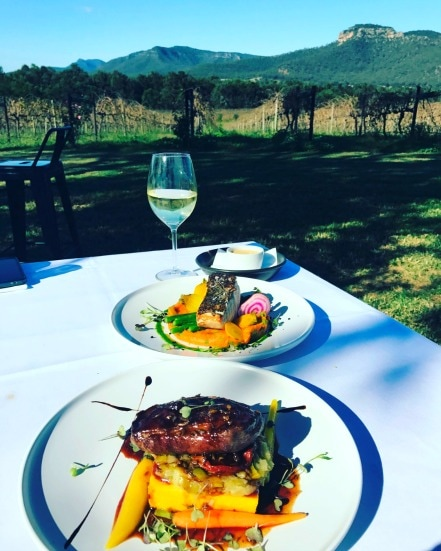 Mount Broke Wines Restaurant - Lismore Accommodation