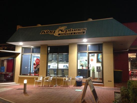 King Neptune's Seafood  Pasta - Lismore Accommodation