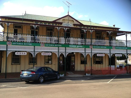 The Wondai Hotel  Cellar - Lismore Accommodation