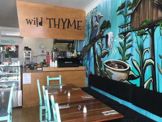 Wild THYME Dining - Lismore Accommodation