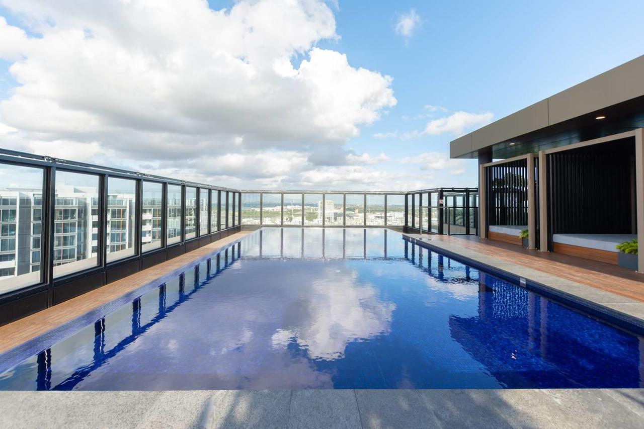 Japanese Style waterfront apt wt rooftop pool - Lismore Accommodation